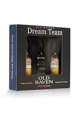Old Raven Dream Team Tasting Set 3x0,04l